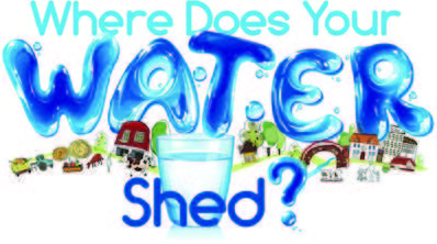 Where Does Your Watershed was the theme for the 2013 poster contest.